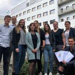 Studenten Drenthe College presenteren hun onderzoeksverslagen aan Martini Ziekenhuis
